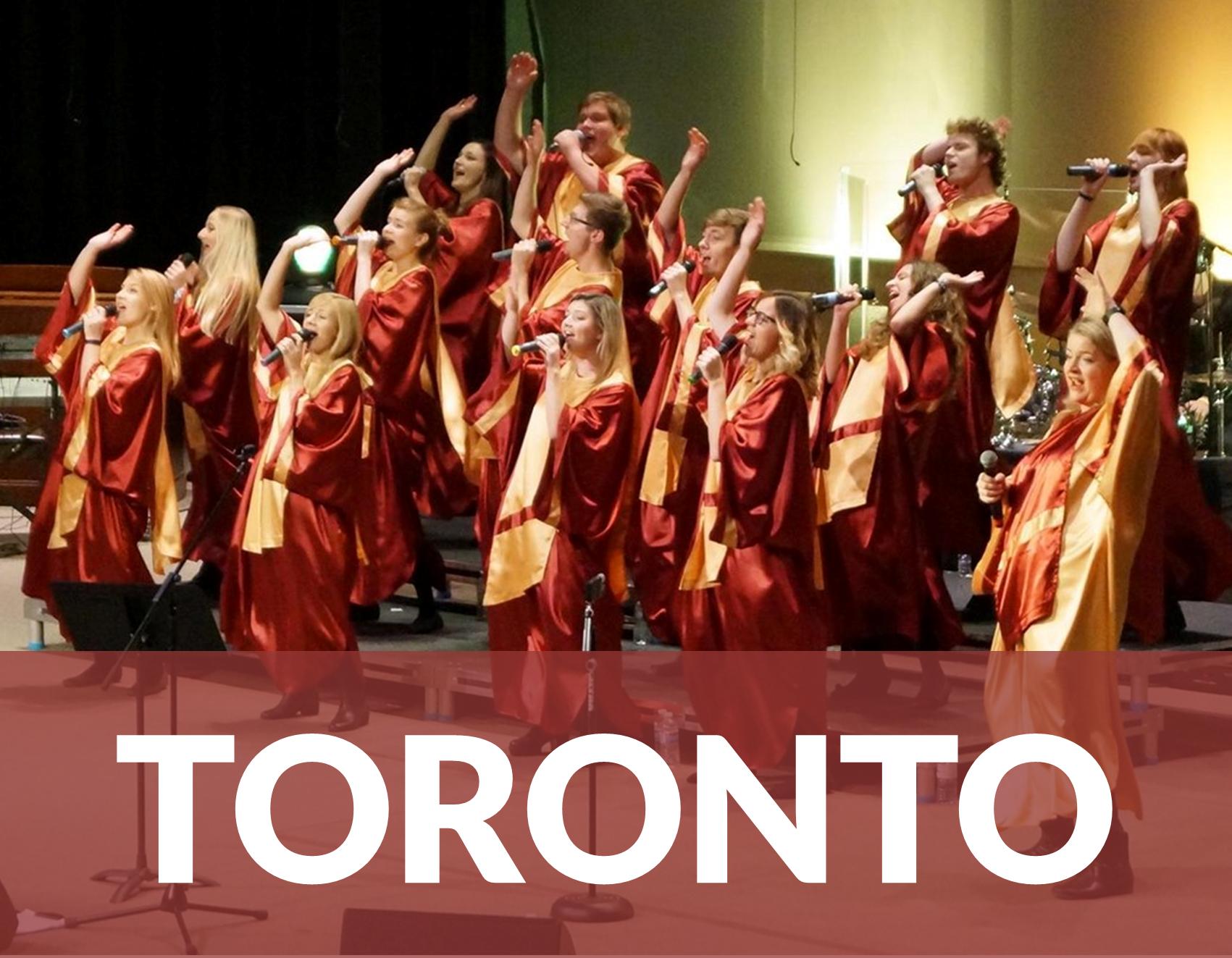 WSPOMNIENIA – Gospel Joy w trasie 2015 – Toronto, Kanada