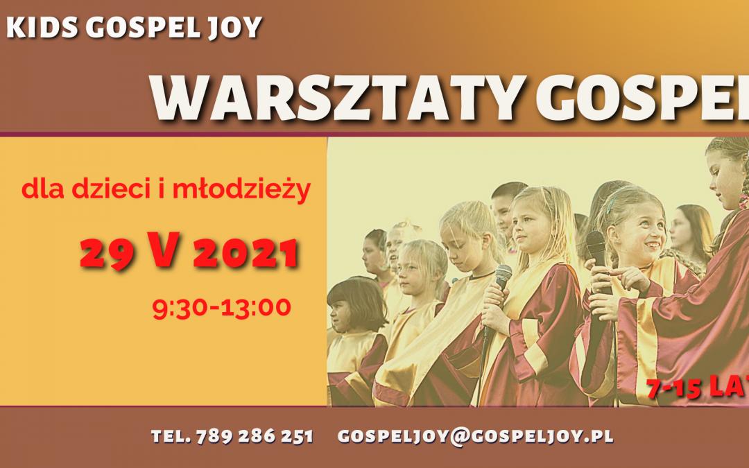 Zapisy na Warsztaty Gospel z KIDS Gospel Joy