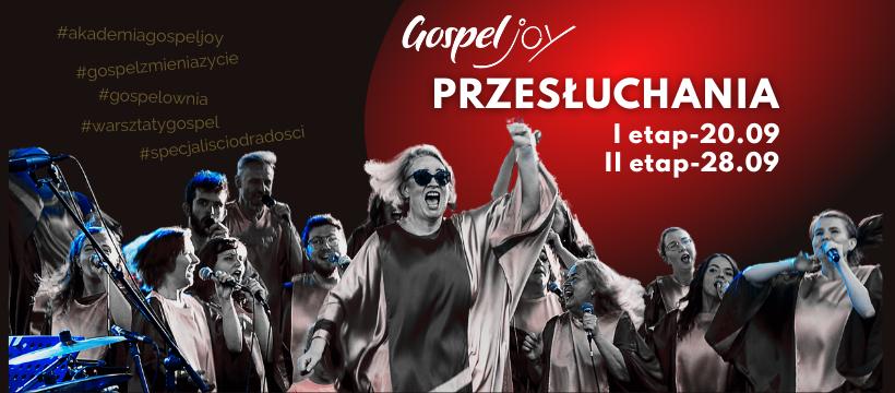 Przesłuchania do Gospel Joy 20.09.2021